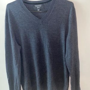 Banana Republic Charcoal Grey Sweater M